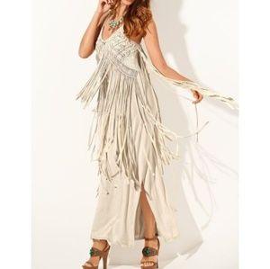 """NEW"" Beautiful Rare Fringe Dress"